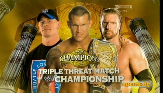 WWE Night of Champions 2009 - Raport