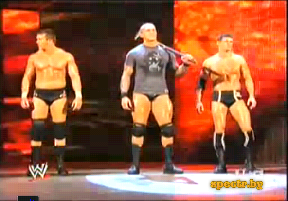 Triple H - Attack Randy Orton And The Legacy