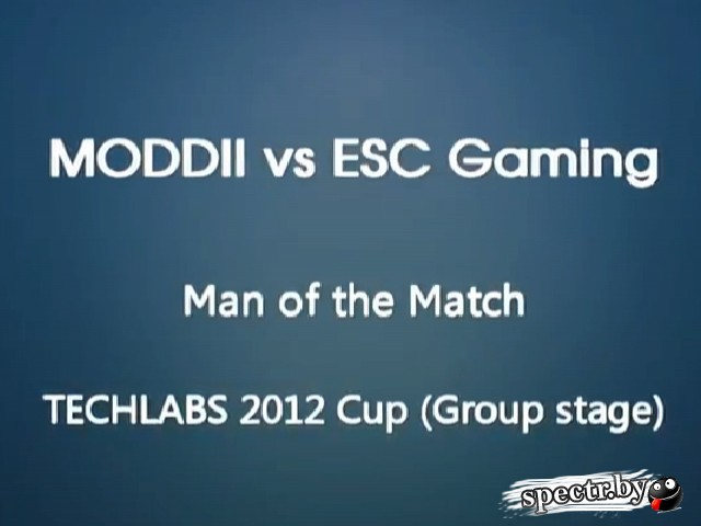 Man of the Match - MODDII vs. ESC Gaming