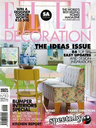 Elle Decoration - April 2012 (South Africa)