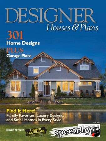 Designer Houses & Plans - Fall 2011