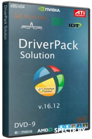 DriverPack Solution 16.12 DVD-9 (2016/RUS/ML)