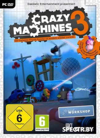 Crazy Machines 3 (v1.5.0/2016/RUS/ENG/MULTi/RePack)