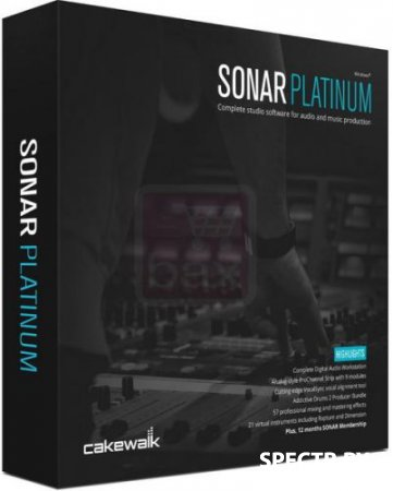 Cakewalk SONAR Platinum 23.5.0 Build 29 (2017.05/RUS/ENG)