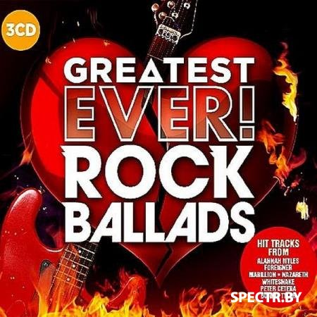 VA - Greatest Ever! Rock Ballads (2017)