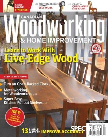 Canadian Woodworking & Home Improvement №118  (2019)